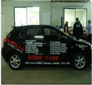 Large format vinyl printing - Vinyl decals for cars and vans