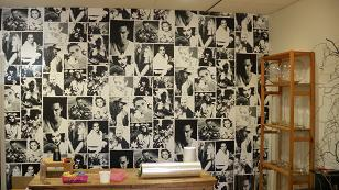Large Format WALLPAPER printed on Eco paper.
