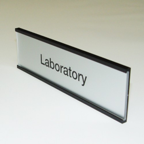 Wall mounted office signs