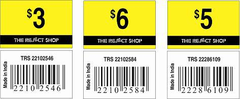 Custom preprinted barcode label printers